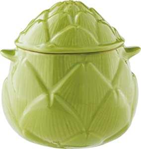 Le Creuset Stoneware Petite Artichoke Casserole, Green