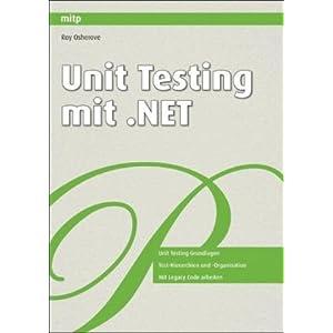 eBook Cover für  Unit Testing mit NET
