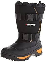 Baffin Men\'s Wolf Snow Boot,Black/Expedition Gold,13 M US