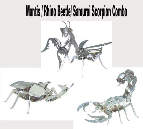OWI-351/OWI-352/OWI-353 Mega Mantis/Samurai Scorpion/Rhino Beetle Aluminum Kit Combo