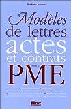 echange, troc Zoubida Azzouz - Modèles de lettres, actes et contrats pour la PME