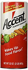 Accent Flavor Enhancer - 2 lb. canister
