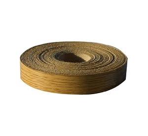 1 x Iron on edging 19mm x 10meter roll of pre glued Oak edging strip Swish