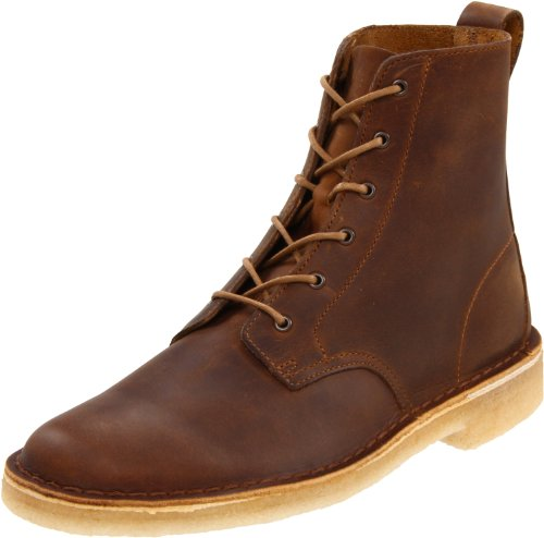 Clarks Men's Desert Mali Boot,Beeswax Leather,8.5 M US