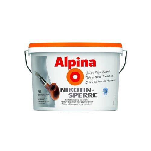 alpina nikotinsperre preisvergleich farbe g nstig kaufen bei. Black Bedroom Furniture Sets. Home Design Ideas