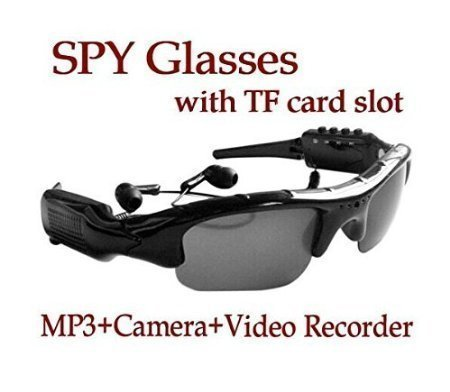 Sunglasses 4 in 1 MP3 Player DVR Mini Camera Camcorder Video Recorder Support Micro SD Card