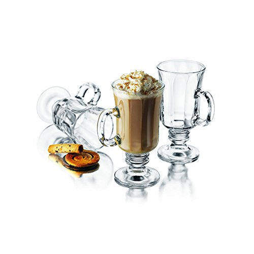 Libbey milan 8 1 4 ounce irish coffee mug in optic 4 for Best coffee in milan