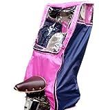 ハローエンジェル ハイバックタイプ リアチャイルドシート レインカバー 後ろ子供座席用・背面用 (ピンク)