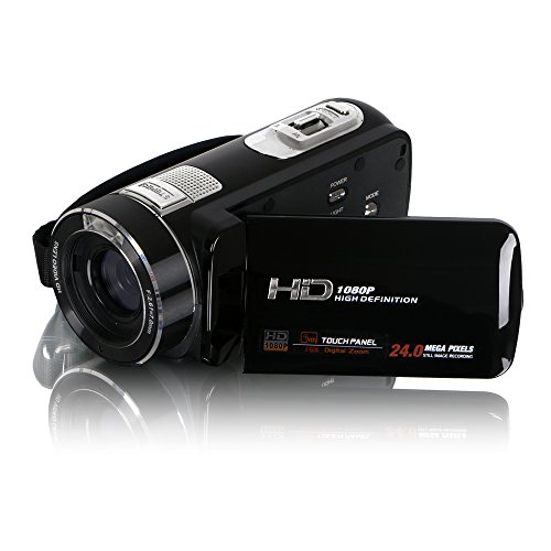 Best Buy! Besteker HD 1080p 24.0 Mega Pixels Enhanced Digital Video Camcorder 16X Zoom Camera DV 3.0...