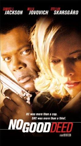 No Good Deed [VHS] [Import] Samuel L. Jackson Milla Jovovich Stellan Skarsgård Doug Hutchison Joss Ackland Sony Pictures