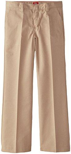 Dickies Big Girls' Flat Front Pant