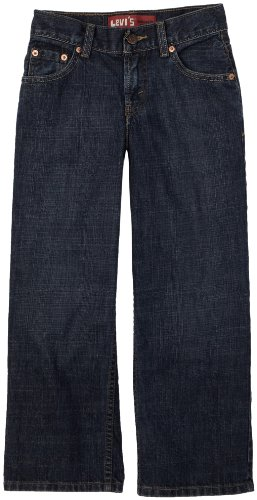 Levi's Big Boys' 550 Relaxed Fit Jean , DK CROSSHATCH, 16 Regular