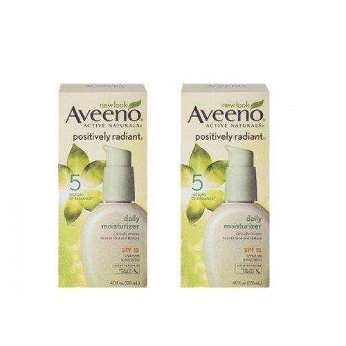 Aveeno Positively Radiant Skin Daily Moisturizer with Sunscr