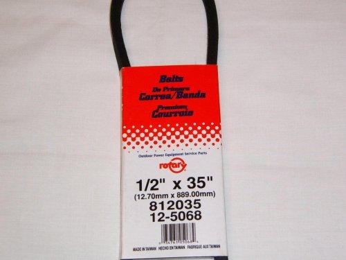 New 1/2 X 35 Premium Belt. Replacement Belt for MTD 954-0101A, 754-0101A, 954-0101, 954-0101; Murra...