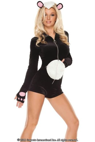 Costumes For All Occasions Cqm6116Sd La Belle Skunk Sm/Md