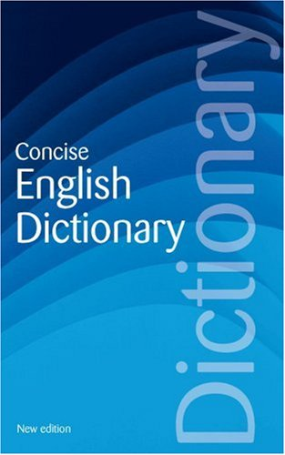 Concise English Dictionary (Reference)