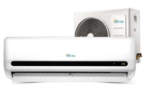 Senville SENL-12CD 12000 BTU 15 SEER Split Air Conditioner and Heat Pump, Mini (Garage Ac Heat compare prices)