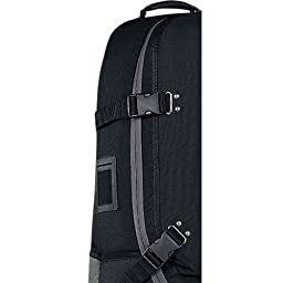 Nike Golf Tour Golf Travel Cover, Black/Dark Grey/Light Charcoal