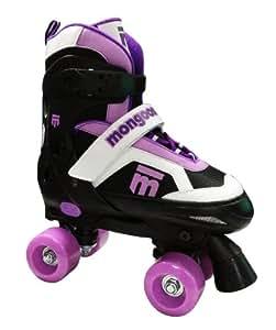 Amazon.com : Mongoose Girl's Quad Roller Skates : Sports & Outdoors