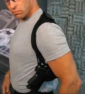 Fobus Concealed Carry Shoulder Holster Pouch Hidden Harness Strap sholder Kimber 45 w/rails