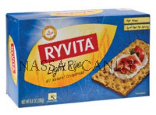 Ryvita Crispbread Light Rye 8.8 Oz - Pack Of 10