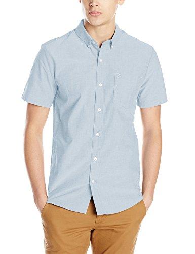 volcom-mens-everett-oxford-short-sleeve-shirt-blue-fog-medium