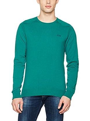 Guess Sudadera Ls Cn Nemanja (Verde)