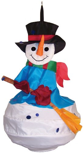 In the Breeze Snowman Wind Friend 3D Windsock (Heavy Duty Flag Streamers compare prices)