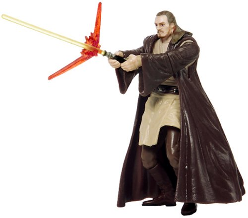 414KPT8248L Cheap Buy  Star Wars The Phantom Menace Qui Gon Jinn Jedi Master