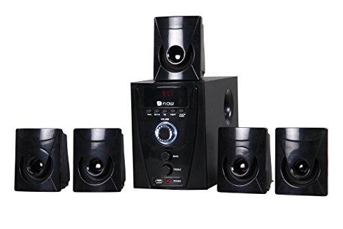 Flow Flash 5.1 Multimedia Speaker Home Theater System,Black