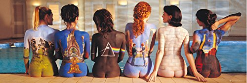 GB eye LTD, Pink Floyd, Back Catalogue, Poster Porta, 53 x 158 cm