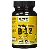 Methylcobalamina Jarrow Formulas Methyl B12 1000mcg, 100 pastillas