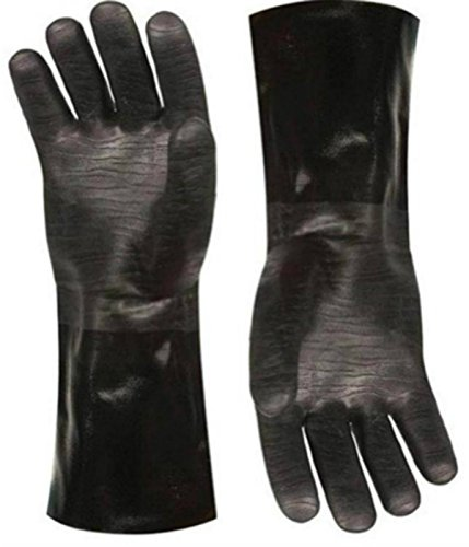 Artisan Griller Heat Resistant BBQ, Smoker, Grill, Oven and Cooking Gloves With Textured Palms, 1 pair (Outdoor Griller compare prices)