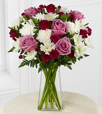 FTD Flowers My Sweet Love Bouquet – 17 Stems – Mother's Day Pick – Delivered by a Local Florist