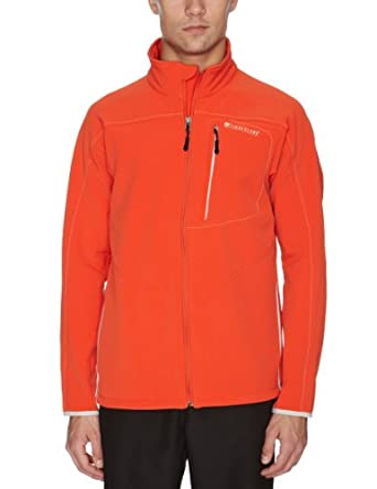 Timberland Men's Auburndale Fleece Jacket Orange 75218-846 Small