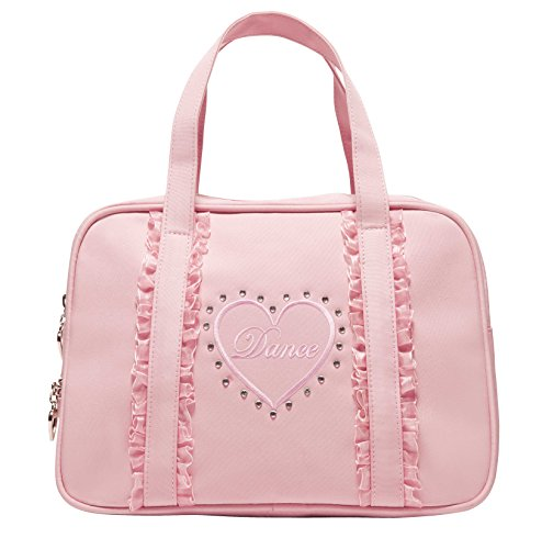 capezio-cuore-borsone-bambine-e-ragazze-rosa-misura-unica