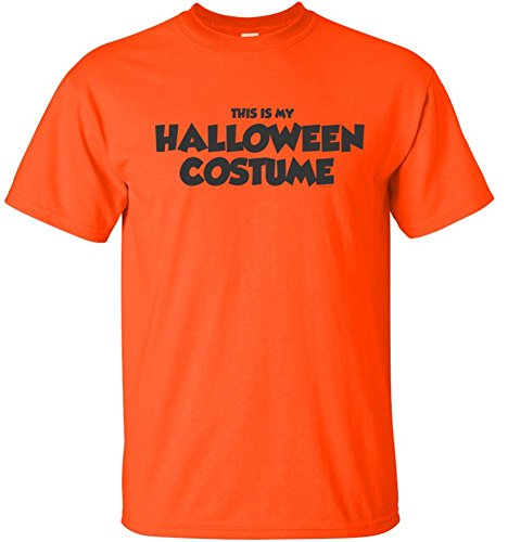 Joe's USA Easy Halloween Costume Fun Tee's -This is My Halloween Costume T-Shirt