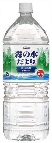 [2CS] 森の水だより 大山山麓 (2L×6本)×2箱