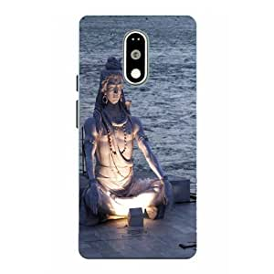 Moto G4 Play Lord Shiva Printed Multicolor Hard Back Cover By Case Cover