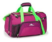 High Sierra Crossport 2 Ringleader Duffel Bag, Razzmatazz/Berryblast/Lim/Merc