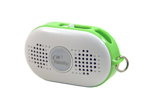 Fidelity Mist Plus Portable Speaker For All Mp3 Players (Green)