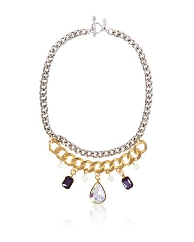Ettika Purple Skies Queen of Crystals Necklace As You See