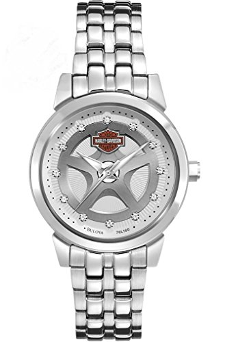 Harley Davidson Silver Stainless 76L160