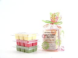 Fun & Fruity Melty Cube Scented Wax Melts: Monkey Farts, Bite Me, Mojito
