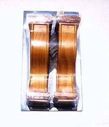 Wood Sconce Set