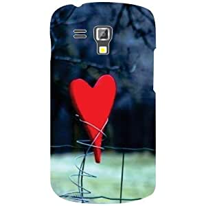 Samsung Galaxy S Duos 7582 Back Cover - Heart Desiner Cases