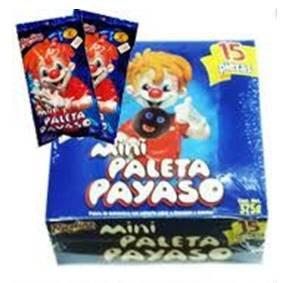 Amazon.com : Mini Paleta Payaso 15 Pieces Marshmallow with