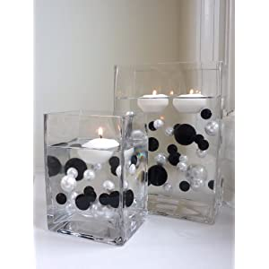Click to buy Wedding Reception Decoration Ideas: Floating Pearls Vase Fillers from Amazon!