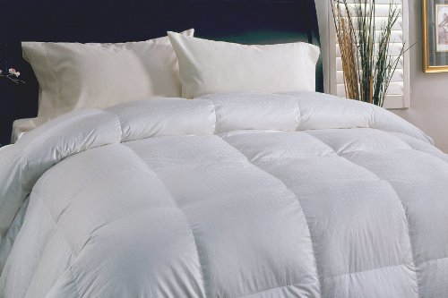 Swiss Dot Down Comforter, 330-Thread Count, Twin 
