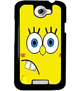 ColourCraft Funny Image Design Back Case Cover for HTC ONE X